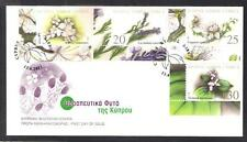 CYPRUS 2002 THERAPEUTIC MEDICAL PLANTS OF CYPRUS MEDICINE NICE UNOFFICIAL FDC B