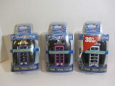 3 Buzztime Trivia Wireless Controller Remotes SILVER PINK PURPLE AS PICTURED