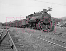 East Broad Top (EBT) Engine 18 with freight at Orbisonia in 1950 - 8x10 Photo