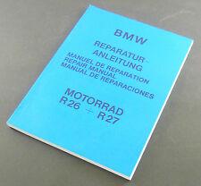 Réparation Instructions BMW R 26-R 27-Allemand-Anglais-Espagnol - Français