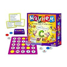 Mayhem Family Fun Game The Word Game of Utter Chaos Children & Adult Board Card