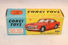 Corgi Toys 218 Aston martin D.B.4 empty near mint complete original box