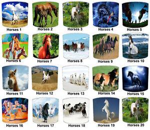 Equestrian Lampshades Ideal To Match Horses Cushions Horses Duvets Horses Decals