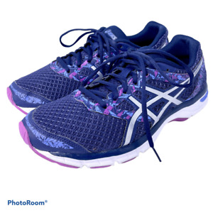 Asics Gel Excite 4 Women's 9 Blue & Purple Lace Up Running Athletic Sneaker