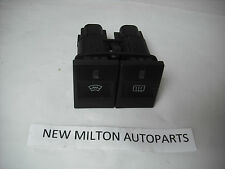 A GENUINE FORD MONDEO MK3 FRONT AND REAR HEATED WINDOW DEMISTER SWITCHES