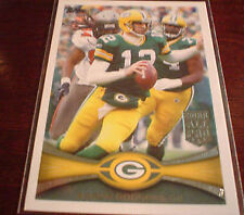 Serial Numbered Topps Aaron Rodgers Original Football Cards