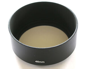 METAL SCREW IN LENS HOOD 46MM LENS SHADE