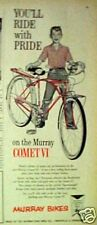 1960 Murray ( COMET VI ) Boys Bicycles 3-Speed Bikes Print AD