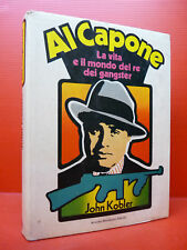 KOBLER: AL CAPONE - VITA MONDO GANGSTER -1973 MONDADORI