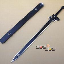 Sword Art Online Kirito Black Sword Cosplay Prop