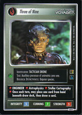 STAR TREK CCG THE BORG RARE CARD THREE OF NINE