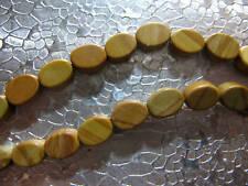 Tigerskin Jasper Beads Oval 15 inch Strand  7x5mm Gemstone Beads
