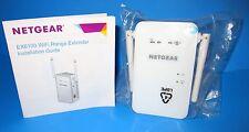 NETGEAR EX6100 AC750 WiFi Range Extender 802.11ac Dual Band Gigabit Wall Plug