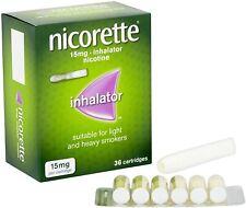 Nicorette Inhalator,15 mg, 36 Cartridges