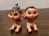 Dora The Explorer DORA AND DIEGO Baby Figures Lot Of 2 Nickelodeon