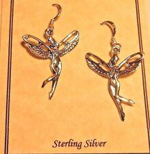 Sterling silver Art Deco Sterling silver Fairy earrings