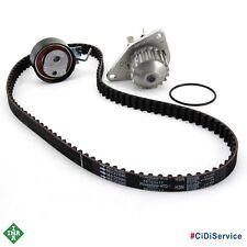 Kit Distribuzione + Pompa Acqua INA Peuget 206 207 307 Citroen C2 C3 1.4 Benzina
