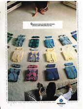 Publicité Advertising 1987 Pret à porter Homme Pull Burlington
