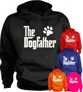 The Dogfather Dog New Funny Hoodie Birthday Gift Present