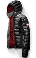 $1895 CANADA GOOSE Men BLACK RED GRY DOWN LITE HOODY JACKET WINTER COAT SIZE 2XL