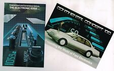1983 Ford ELECTRONICS / STEREO / RADIO OPTIONS / Accessories Guide Brochure &...