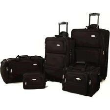 Samsonite 5 Piece Nested Luggage Set, Black New