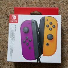 Nintendo Switch Joy-Con Pair - Purple and Orange *BRAND NEW*