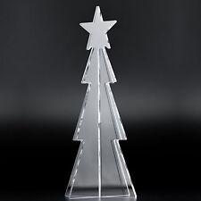 Tannenbaum Klar 26,5cm Christbaum Weihnachtsbaum Acryl Weihnachten X-mas Tree