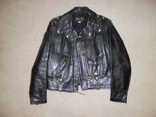 VINTAGE BUCO  STEERHIDE  LEATHER JACKET (1950's) - ORIGINAL