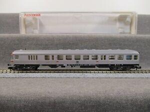 """Fleischmann N 8120 Personenwagen Nahverkehrs-steuerwagen DB """"Silberling"""" in OVP"""