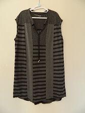 Vigorella Striped Tunic/Dress XL