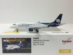 Herpa Wings Aeromexico Connet Embraer E170 1:400 XA-GAM 562652