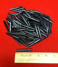 "2"" Inch Black Real Buffalo Horn Hairpipe (100 Pcs) Native American Choker Beads"