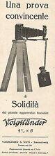 W2224 Apparecchio fotografico tascabile VOIGTLANDER - Pubblicità del 1926 - Ad
