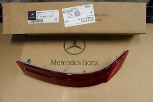 NEW GENUINE MERCEDES BENZ MB GL X164 REAR BUMPER RELFECTOR LENS LEFT N/S