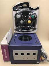 Nintendo GameCube Console - Indigo, DOL-001, TESTED AND WORKING! W/ Controller!