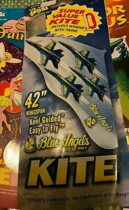 """GAYLA INDUSTRIES 42"""" x 22"""" Blue Angels FA /18 Hornet Jet Fighters"""