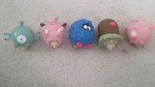 Pokemon Tangela, Magnemite, Diglet, Chansey, Clefairy Burger King Top Toys.