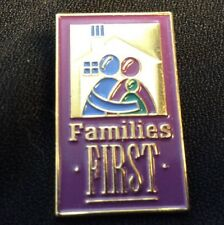 Families First Lapel Pin