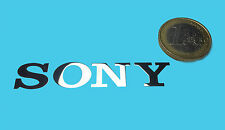 SONY METALISSED CHROME EFFECT STICKER LOGO AUFKLEBER 60x10mm [31]