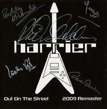 Harrier-out on the street EP CD 2009 remastered signed Cardboard-pochette NWOBHM