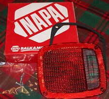 "NEW ""Old Stock"" NAPA BALKAMP 680-1164 Red Tail Lamp Lens"