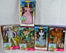 Barbie Wizard of Oz Dolls Dorothy Glinda Tin Man Scarecrow Cowardly Lion