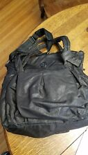 RARE Lululemon Duffel Gym Bag/Yoga Tote Black Carryall
