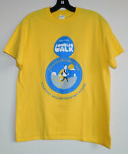 Solace House Sunrise Walk Preventing Suicide and Self-Harm Yellow T-Shirt M