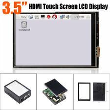 "3.5"" HDMI Mini Touch Screen LCD Display +ABS Case Box for Raspberry Pi 3B+/3B/2B"