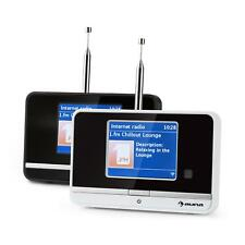 DIGITAL WLAN INTERNETRADIO DAB/DAB+ BLUETOOTH UKW MW DUAL ALARM WECKER  DISPLAY