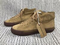 UNIVERSAL WORKS, P.F. FLYERS CENTER HIGH, UK SIZE 9, BRAND NEW, BROWN GUM SUEDE