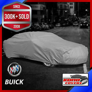 BUICK [OUTDOOR] CAR COVER ✅ All Weatherproof ✅ 100% Full Warranty ✅ CUSTOM ✅ FIT