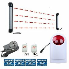 Wireless driveway 2beams10Meters stand alone alarm system (has 10/20/40/50/60m)